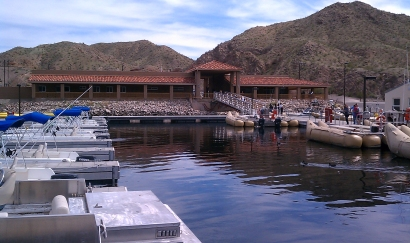 Pictures and information about willow beach harbor for Willow beach fishing report
